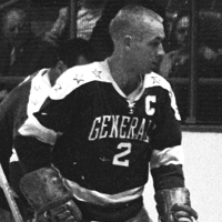 "Brian ""Butch"" MacKay, Greensboro Generals, November 7, 1962 Clinton, NY"